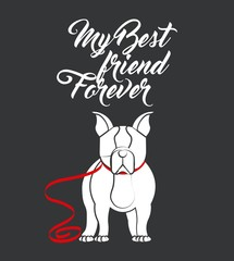 french bulldog design