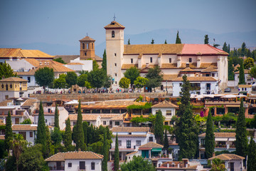 Albaicin landscape, Granada, Spain