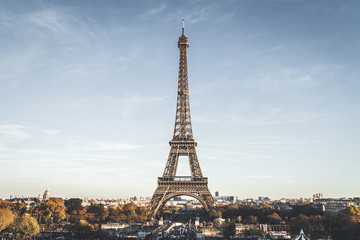 Fototapete - The Eiffel Tower, Paris, France