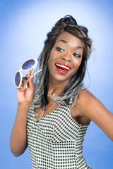 Pin Up Style With Sunglasses