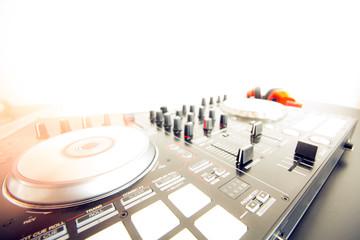 DJ console cancer