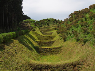 Ruins Yamanaka Castle, Misima city