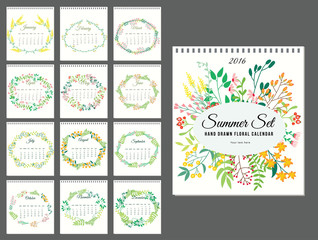 Tropical Flowers and Leaves Background. Summer Design.