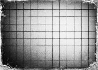Horizontal black and white film scan plate illustration backgrou