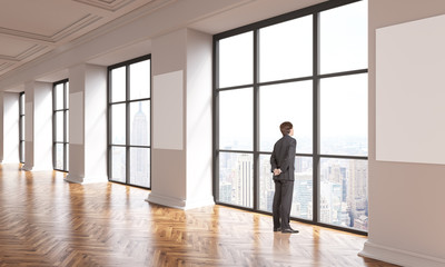 Interior businessman NYC