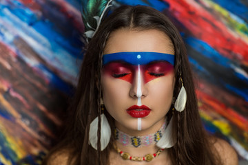 Native Mayan or American tribe