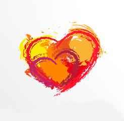 Love Heart . Red Heart . Heart Shape. Heart Background . Heart T