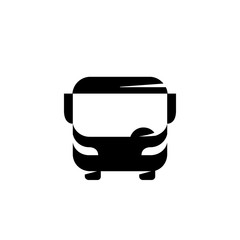 Bus logo on a white background