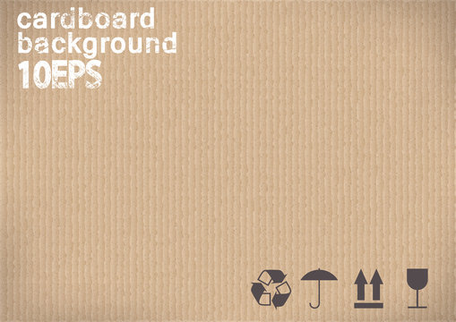 black shipping Icons on cardboard background.vector illustration
