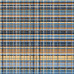 Seamless Plaid Fabric Pattern, Graphic Illustration