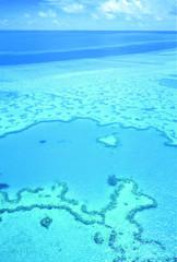 Australien: Luftbild vom Great Barrier Reef. Aerial shot of Hardy Reef, Great Barrier Reef.