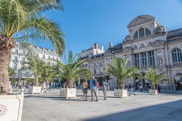 Place du Ralliement et Théâtre, Angers, France