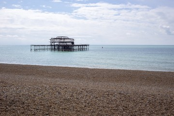 Old Brightion Pier - Brighton, England