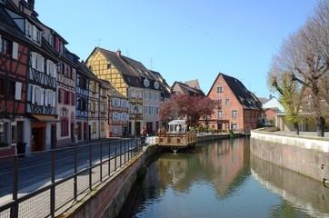 Rue de la Poissonnerie, Colmar au printemps en Alsace