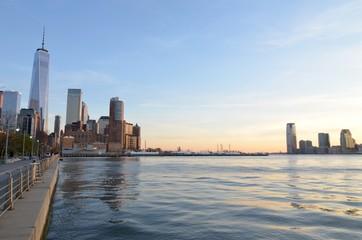 Manhattan view, New York City, USA
