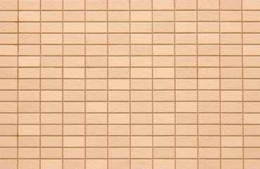 Brown concrete tile wall pattern and background seamless