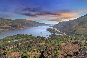 Columbia River Gorge from Rowena Crest