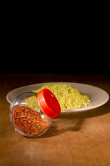 Yellow Rice With Saffron