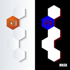Hexagons_Orange_Icon_Vertical