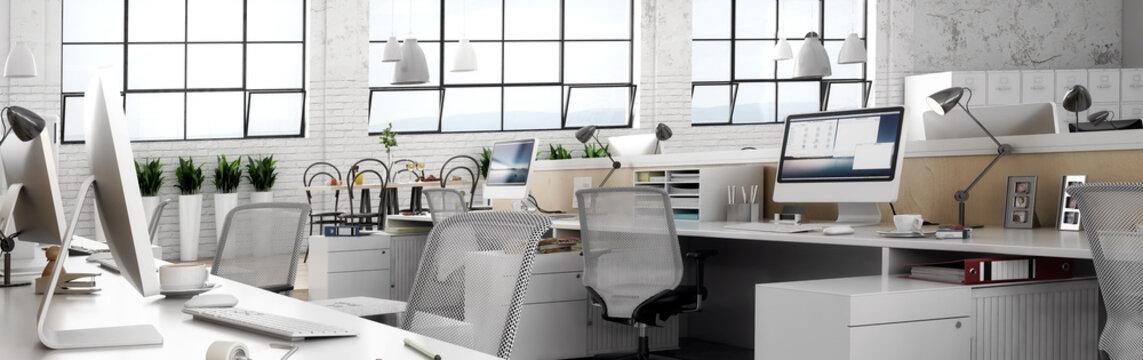 Büroeinrichtung (panoramisch)