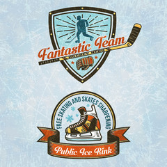 Logo of the hockey team