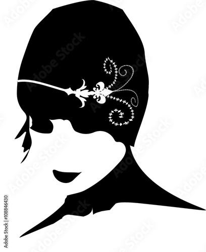 """Eccezionale donna stilizzata con cappello"""" Immagini e Fotografie Royalty Free  RS33"""
