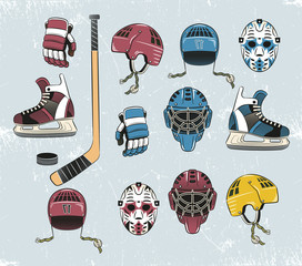 hockey tems color