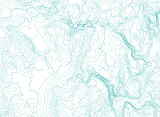 abstract topographic map, vector background