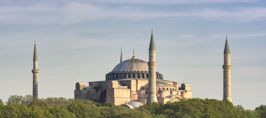 Hagia Sophia At Sunset, Istanbul, Turkey
