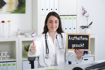 Arzthelferin Gesucht