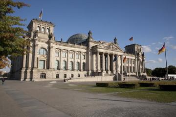 Der Reichstag in Berlin, Sitz des Bundestages