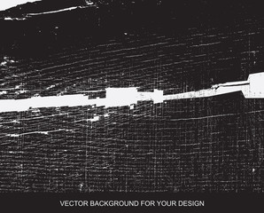 Distress Overlay Texture For Your Design. Black and white grunge