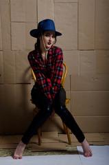 girl in pirate hat
