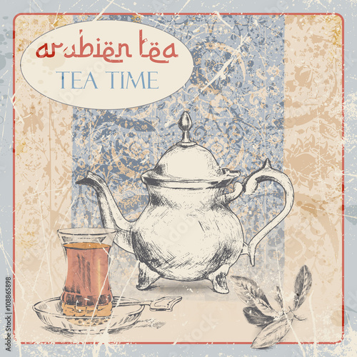 Arabic tea time