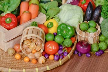 Fresh vegetables organic