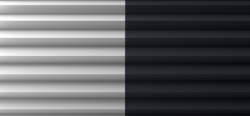 Pleated Black and White Copy Space