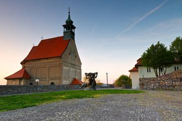 St. Nicholas' church on the castle hill in Bratislava, Slovakia