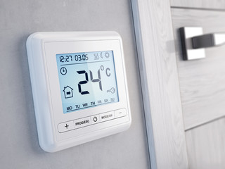 Modern digital programmable Thermostat