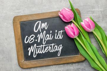 Am achten Mai ist Muttertag