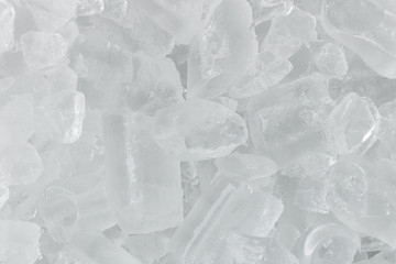 background with ice cubes for cold drinks