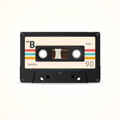 Cassette Tape Old. Vector