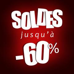 Soldes jusqu'à -60%