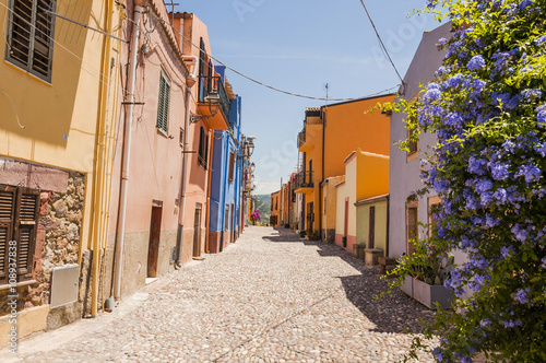 Häuser Italien bosa altstadt stadt altstadtviertel altstadthäuser historische