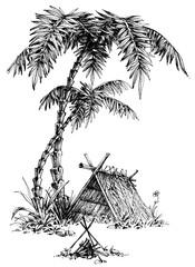 Summer camp sketch