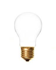 plain light bulb