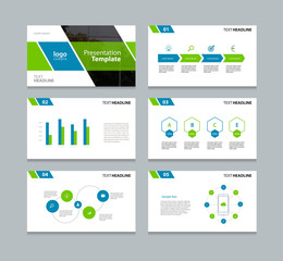 presentation slides background design template.info graphs and charts elements