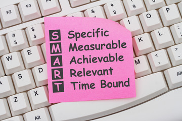 Writing your SMART Goals