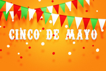 Cinco De Mayo Rays Background