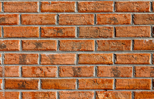 Brown Rust Brick Wallpaper Picture Of An Exterior Wall For Background Or