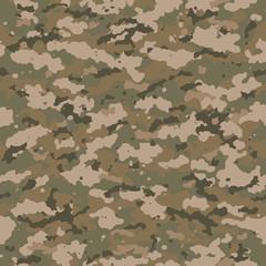 Seamless camouflage pattern.
